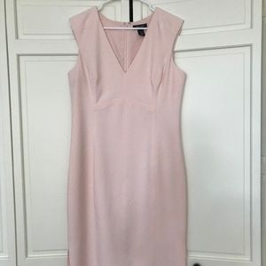 White House Black Market Pink Dress